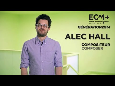 ECM+ Génération 2014 Alec Hall