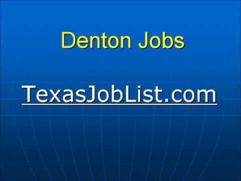Denton Jobs