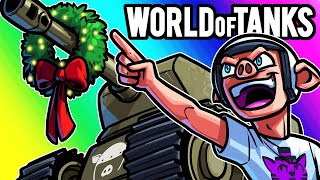 World of Tanks Funny Moments - Totally a Christmas Game!