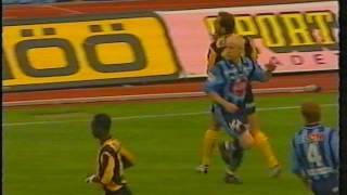 Djurgårdens IF - BK Häcken Allsvenskan 2001