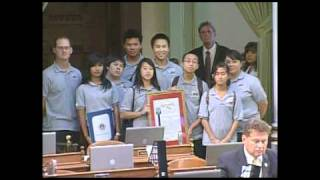 MESA Students honored by CA Legislators Thumbnail
