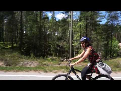 Summer cycling in Kimitoon, Finland