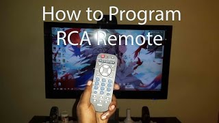 how to program rca universal remote