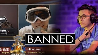 Pro HS Player BANNED and Casters fired (Blitzchung) #blitzchung #boycottblizzard