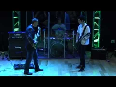 Paul Gilbert: Technical Difficulties by Nevada Music Academy's Grady Jones, Gabe and Dylan Conver