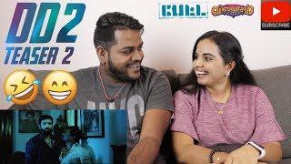 Dhilluku Dhuddu 2 Teaser 2 Reaction | Malaysian Indian Couple | Petta Viswasam | Santhanam