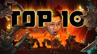 TOP 10 Kobolds and Catacombs Cards! Trump