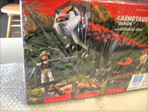 Rare JURASSIC PARK PARK CARNOTAURUS DEMON - YouTube