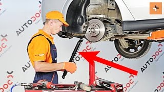 front Shock Absorber installation OPEL VECTRA: video manual