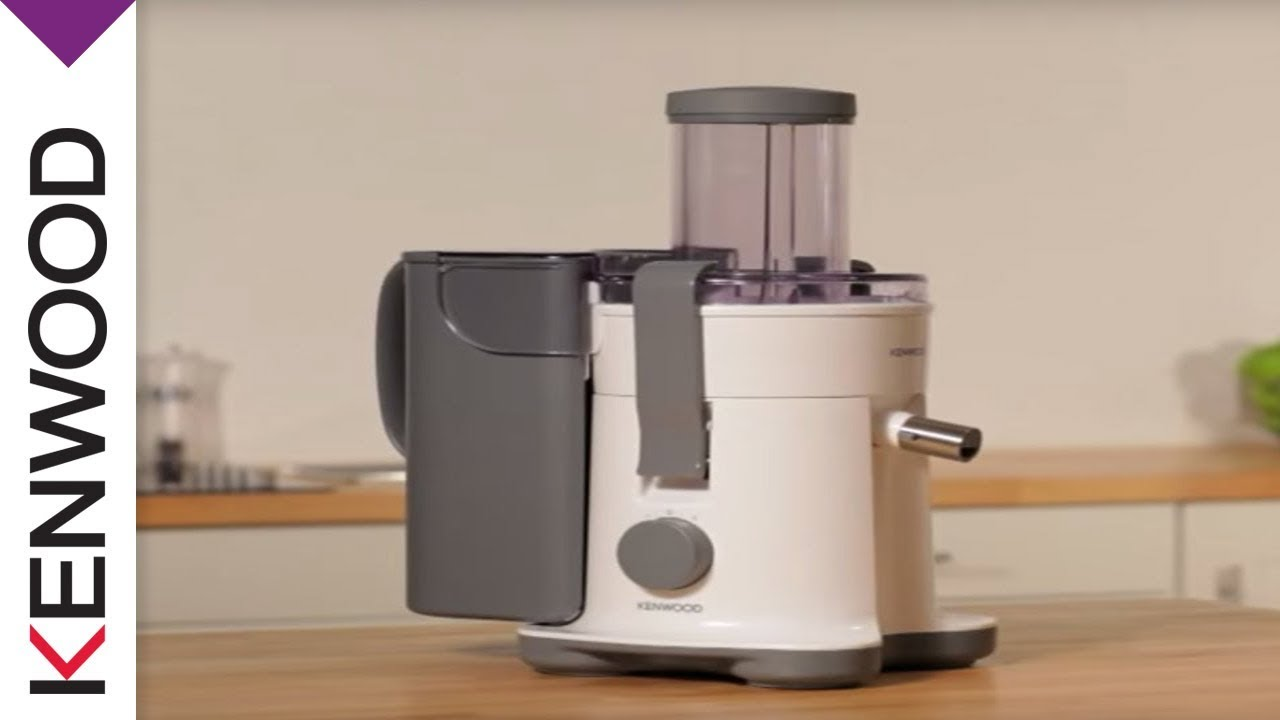 Kenwood Continuous Juicer Introduction - YouTube