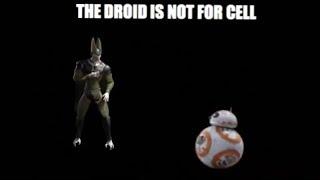 THE DROID IS NOT FOR CELL
