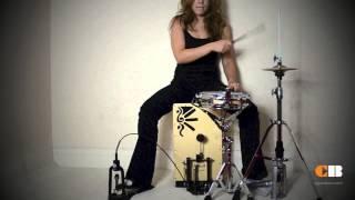 Cajon Pedal + Cajon Drum kit