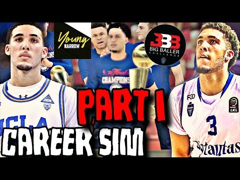 LIANGELO BALL NBA CAREER SIMULATION ON NBA 2K18!! THE BIGGEST STEAL IN NBA HISTORY?