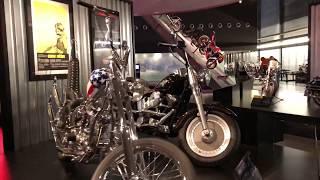 The Terminator Fat Boy motorcycle - Museum Milwaukee Harley-Davidson