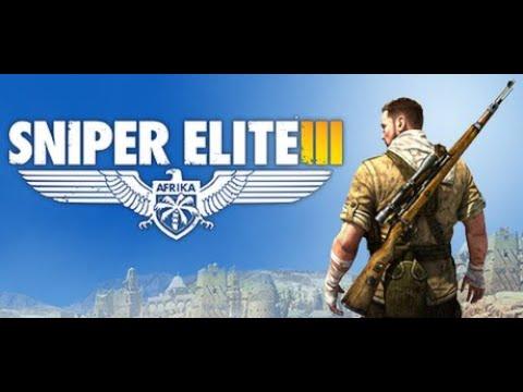 Sniper Elite 3 Mission 1 Oblezenie Tobruku Walkthrough Gameplay  