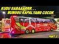 BUS INI GAK BISA ASAL MILIH KAPAL    Trip Denpasar-Surabaya Gunung Harta Tronton Merah