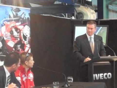 Casey Stoner pre-event press conference - Part 2