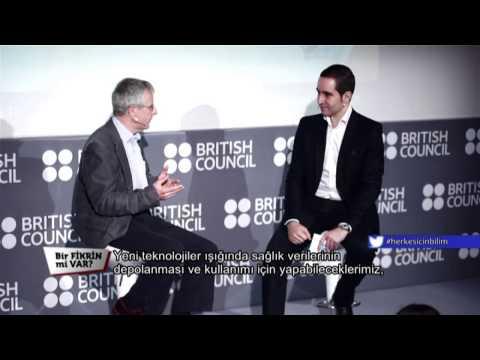 İngiltere'nin Ünlü Bilim İnsanı Prof. Peter Bath Bir FİKRİN Mi VAR Ekranlarında