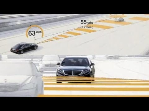Mercedes Benz Distronic Plus Adaptive Cruise Control Test Abtl