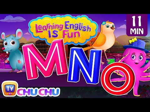 MNO Songs  ChuChu TV Learning English Is Fun™  ABC Phonics & Words Learning For Preschool Children