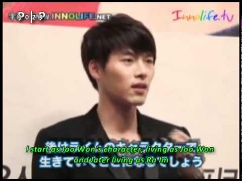 [10.11.10] Secret Garden: Ha Ji Won - Hyun Bin Interview at Innolife [Eng]