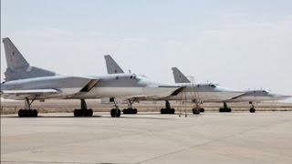 استقرار بمب افکن های روسی در همدان ایران