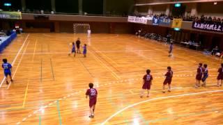 第37回高校ハンドボール近畿選抜女子  生駒VS宣真