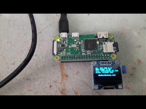 Raspberry Pi Lesson: OLED Display « Blog Kejuruteraan Dan