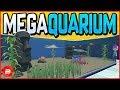 Design & Build Your Own Mega-Aquarium! Megaquarium Gameplay #1 (Tycoon)