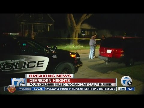 Police: Father kills 4 children, injures mother in attack at Dearborn Heights home