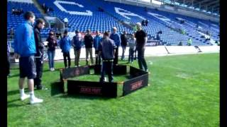www.matrixsportsgroup.com Cardiff City Football Club Quick Feet Challenge Match Day Competition