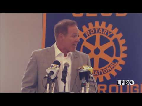 2016-07-28 Les Miles at BR Rotary Club