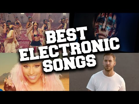 TOP 100 Most Popular Electronic Songs Of All Time (Updated i