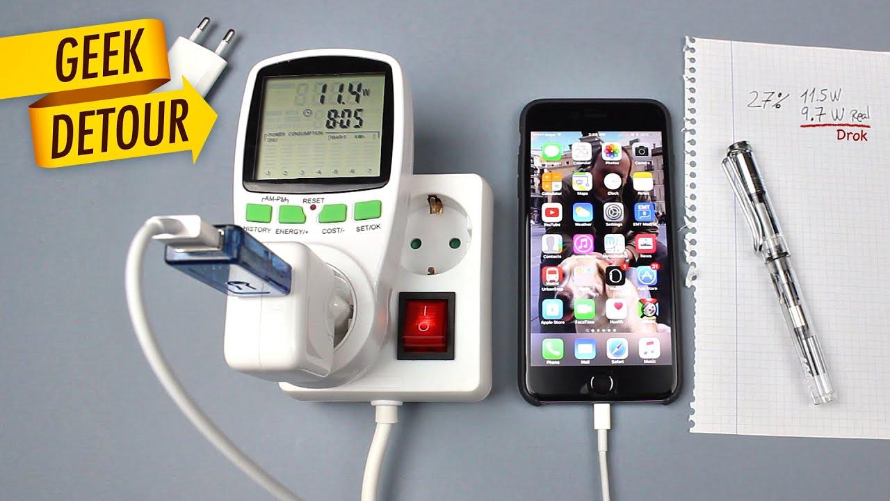 Hurtig opladning til iPhone og iPad skader det iPhonen