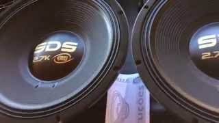 Eros SDS / Target Bass Versão Black, Qual a diferença?
