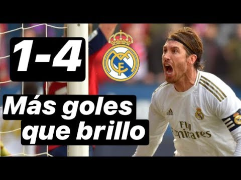 1-4 Osasuna vs Real Madrid. ¿Quién fue el mejor y la clave ...