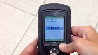 Video thumbnail: OmniPod PDM Insulin Pump: Basal Settings