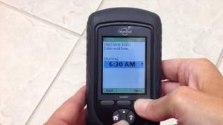 Video thumbnail: OmniPod PDM Insulin Pump: Basal Settings