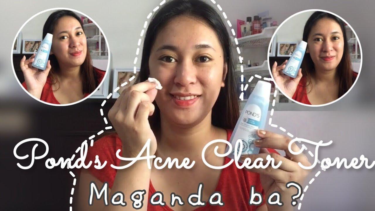 Pond S Acne Clear Toner Maganda Ba Vlog 105 Youtube