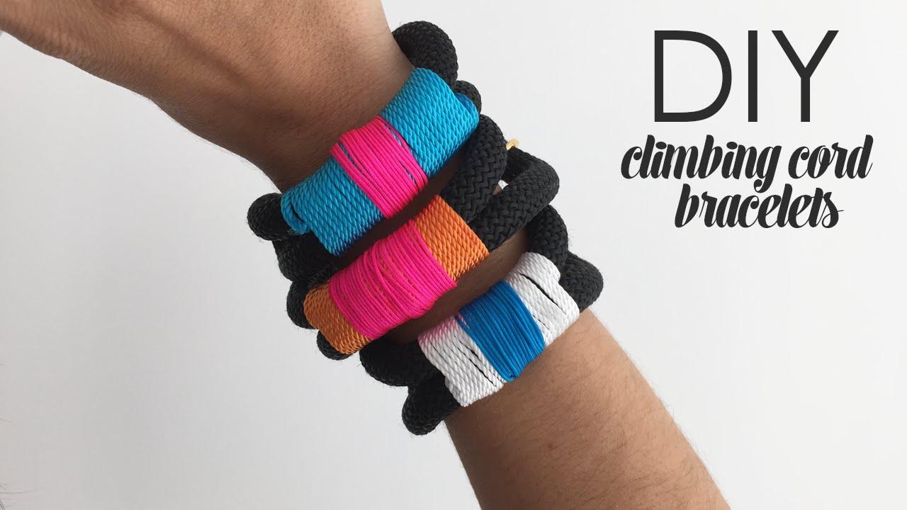 Diy Climbing Cord Bracelets