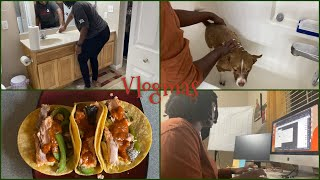 VLOGMAS 2020 #2 | Cooking, Cleaning, Editing MORE | Naomi Onlae