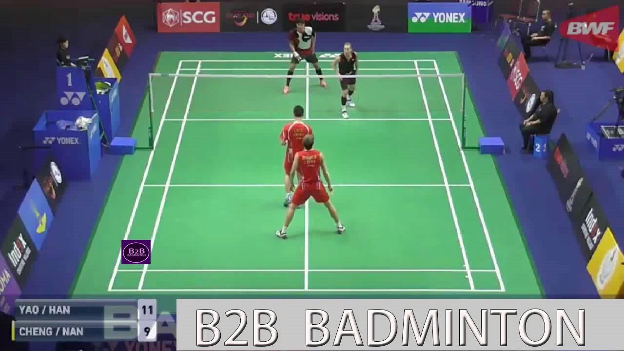 Badminton 2017 ThailandMaster LU Ching Yao YANG Po Han vs ZHANG