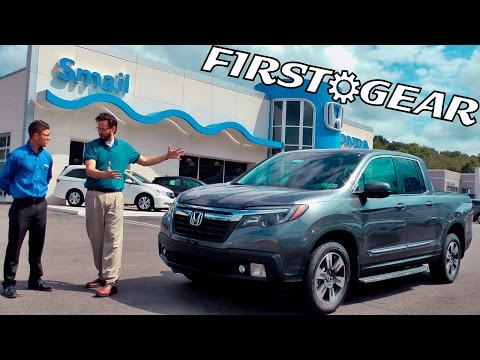 First Gear - 2017 Honda Ridgeline - Review and Test Drive