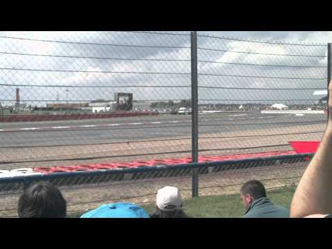 At The Exit of Copse Corner Silverstone British Grand Prix 2011 Clips