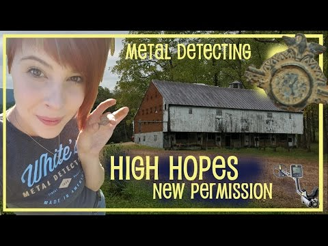 High Hopes, New Permission - Metal Detecting Around an Old Barn
