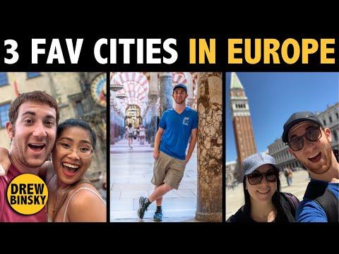 3 FAVORITE CITIES IN EUROPE