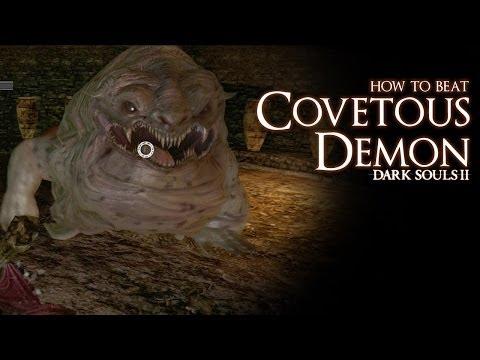 How to Beat the Covetous Demon boss - Dark Souls 2