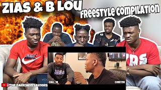 ZIAS & BLOU Freestyle Compilation #1 [REACTION]
