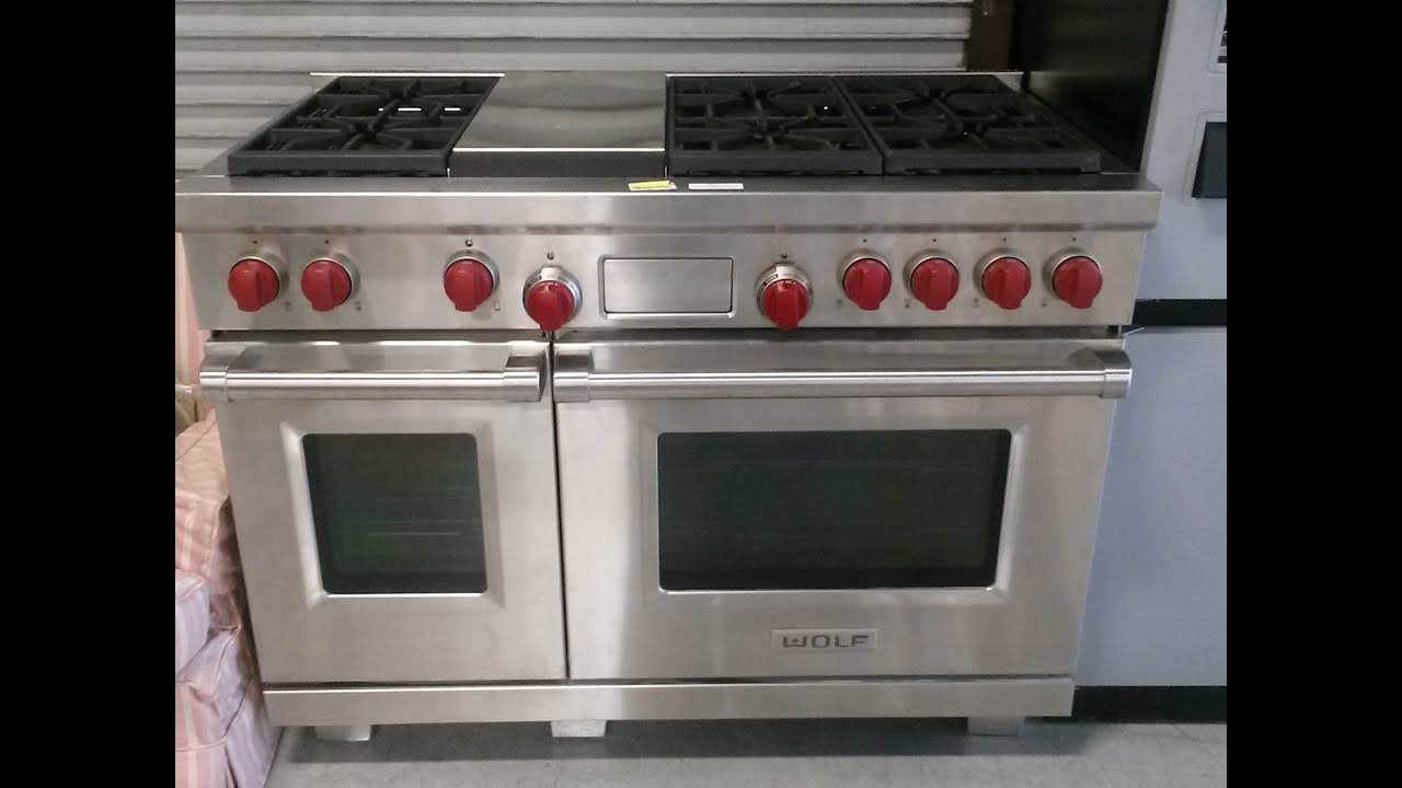 Wolf Double Oven Range Demonstration