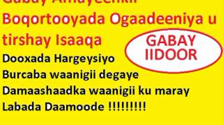 Gabay Afhayeenkii Ogadeniya ku caayay Isaaq